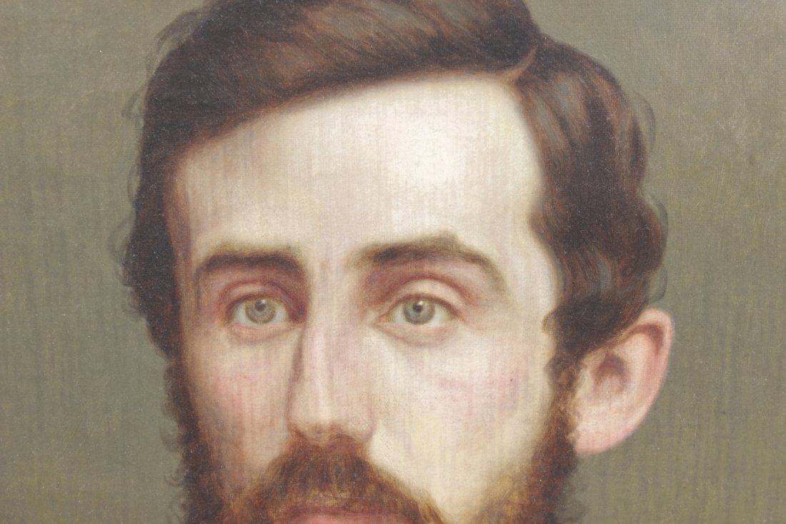 Beardsley, J. Portrait of Man with Blue Tie - 2