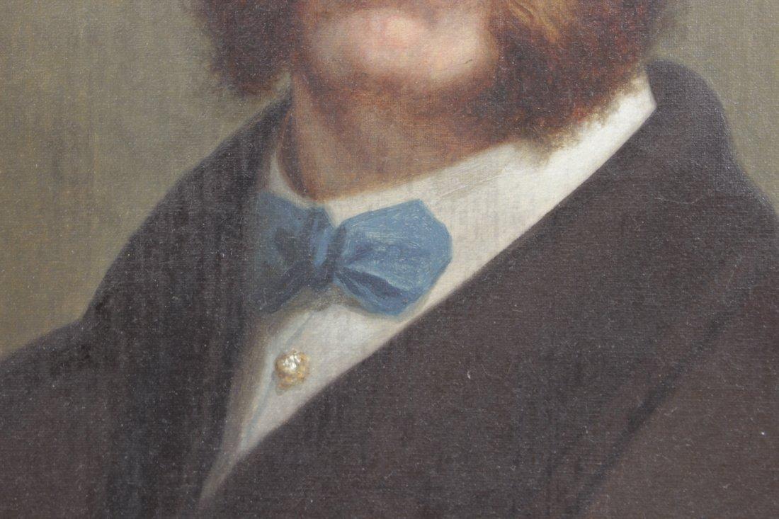 Beardsley, J. Portrait of Man with Blue Tie - 3