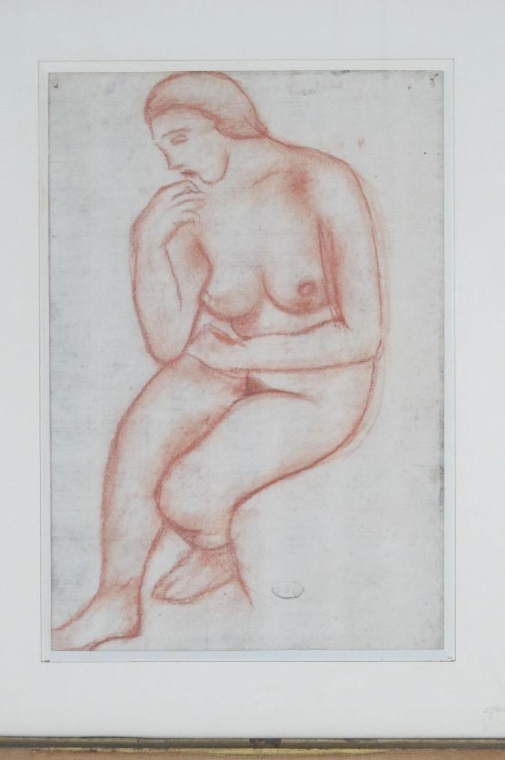 Aristide Maillol (1861-1944) Sanguine - 2