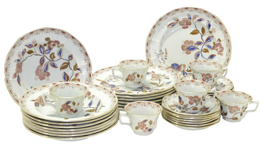 Calyx Ware Partial Dinner Service for Eight