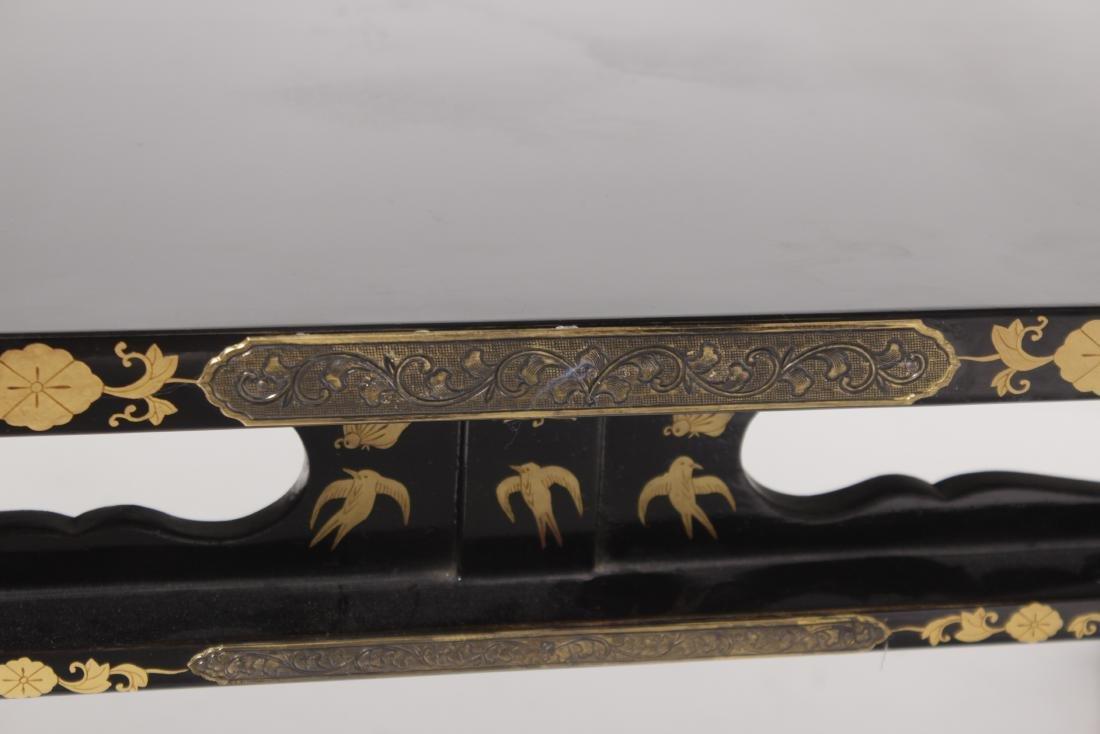 Asian Gilt Mounted Table - 2
