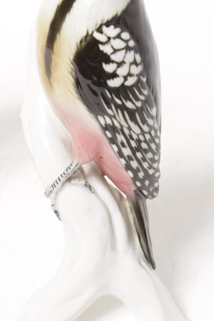 Pair 'Karl Ens' Porcelain Birds - 4
