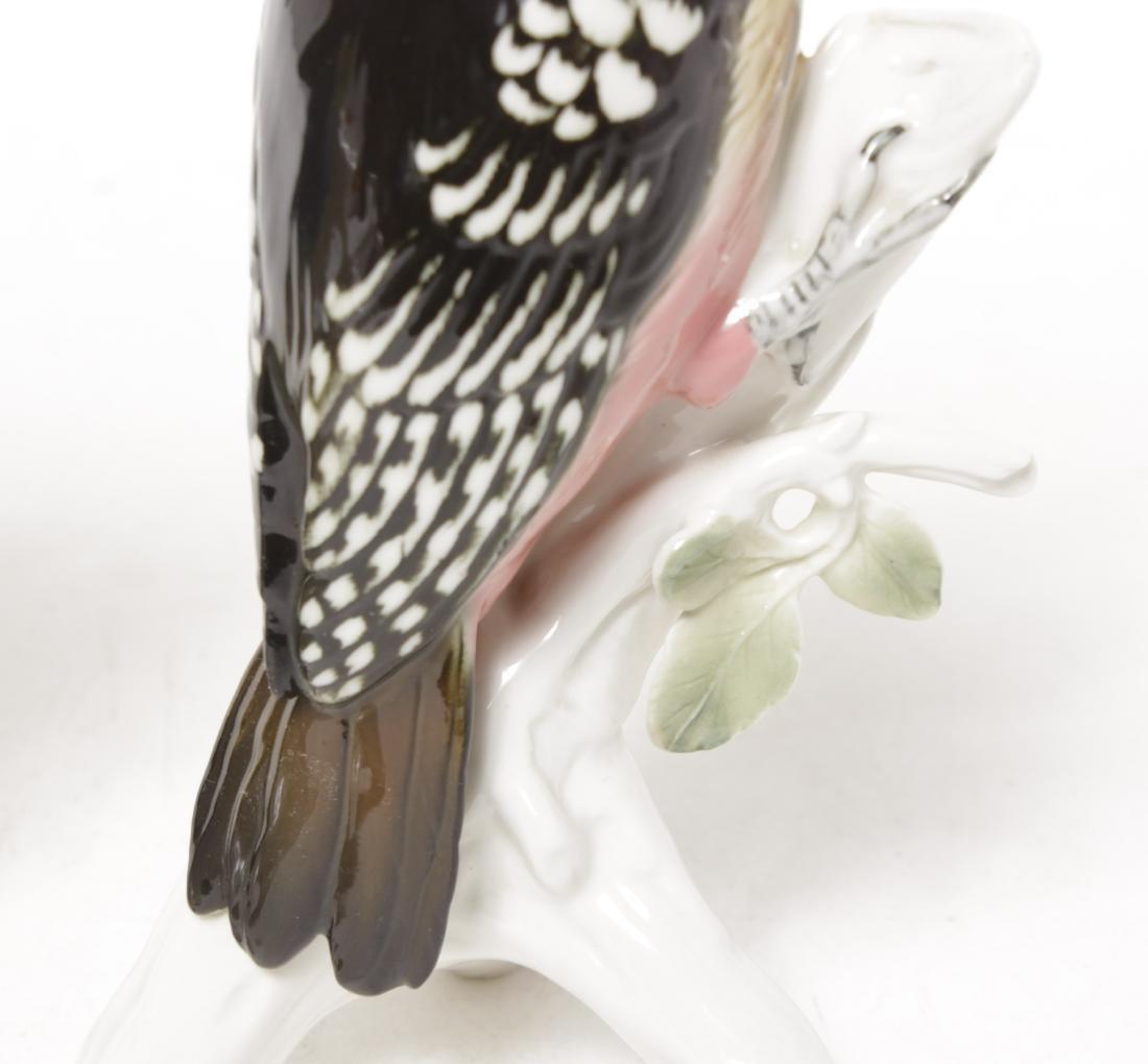 Pair 'Karl Ens' Porcelain Birds - 6