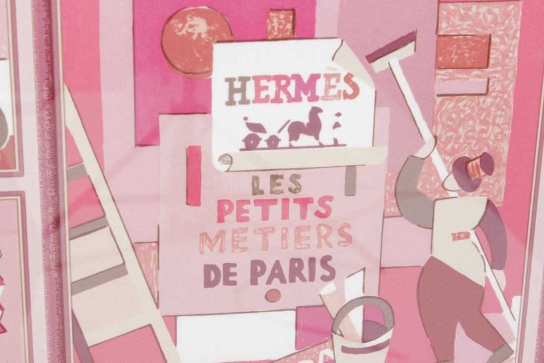 Framed Hermes Scarf 'Les Petit Metiers de Paris' - 2