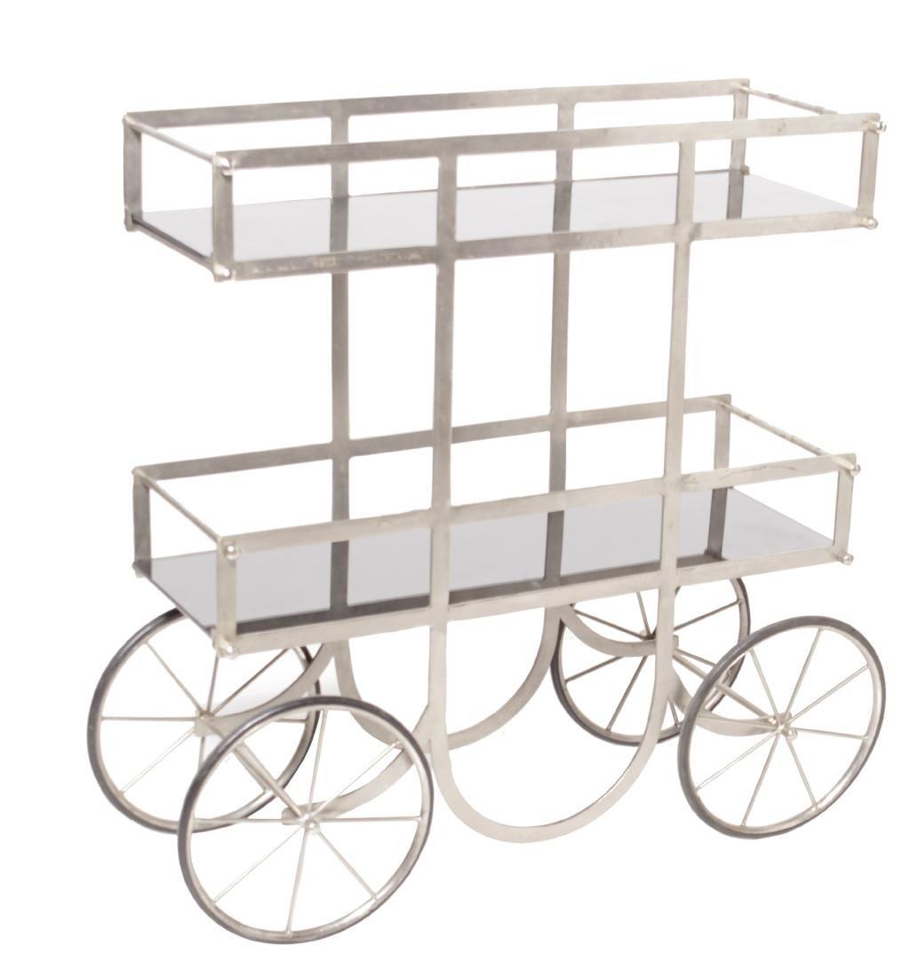 Industrial Style Steel Cart