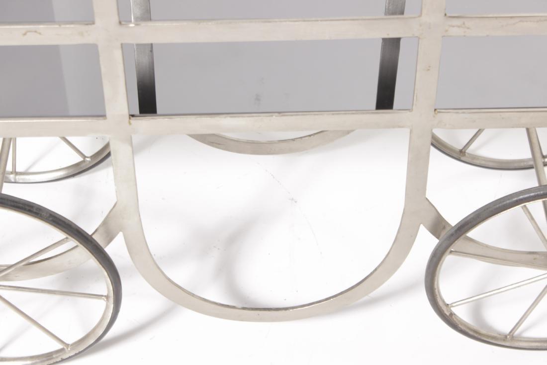 Industrial Style Steel Cart - 5