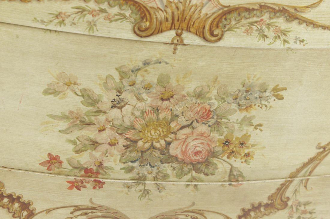 Louis XV Style Provincial Painted Chest - 2