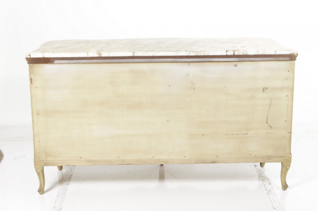 Louis XV Style Provincial Painted Chest - 8