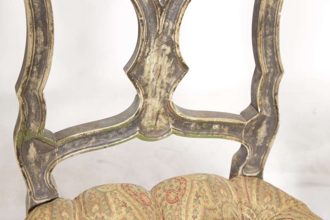 Four Venetian Style Dining Chairs - 5