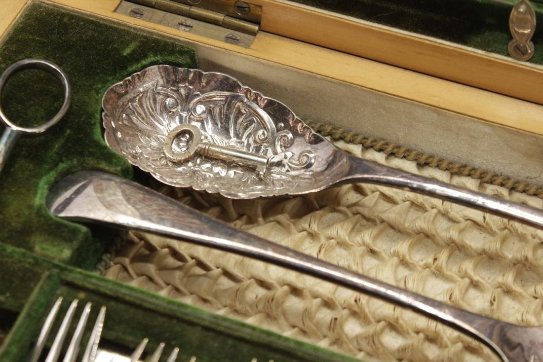 Silverplated Partial Fish and Dessert Service - 5