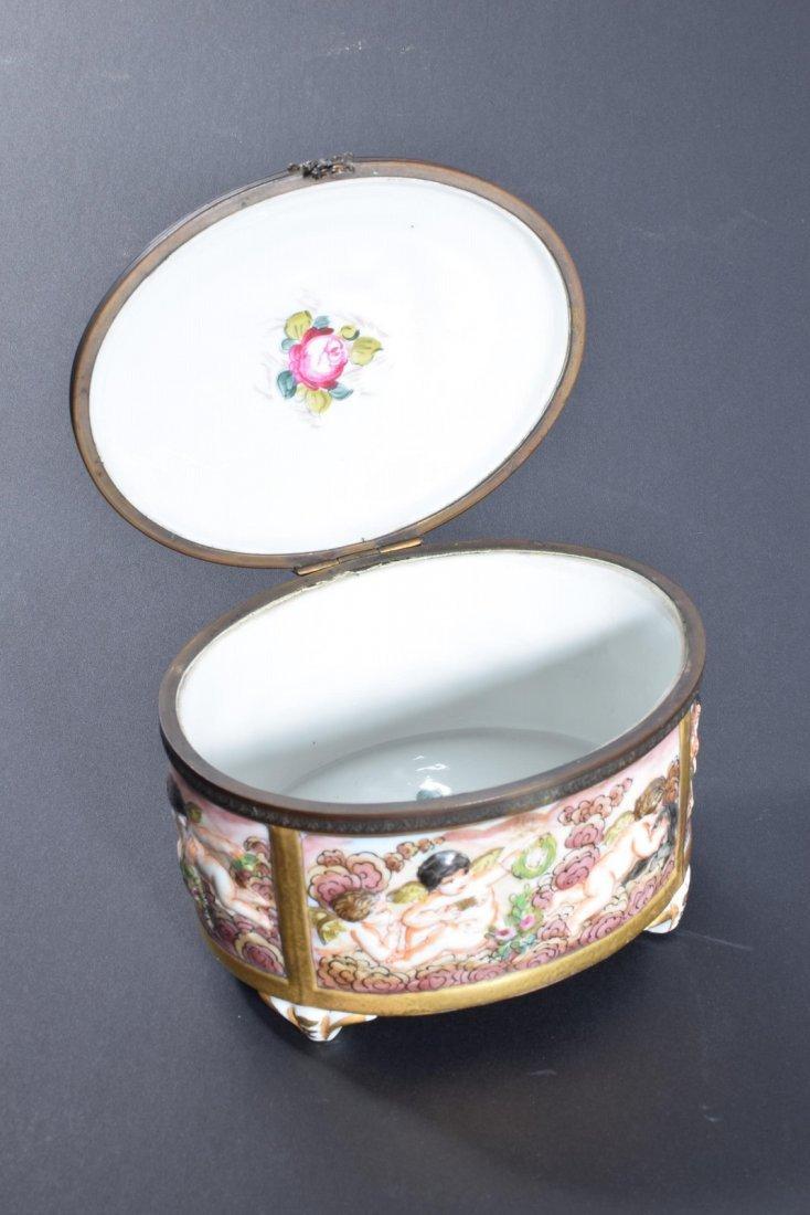Capodiimonte Oval Dresser Box - 2