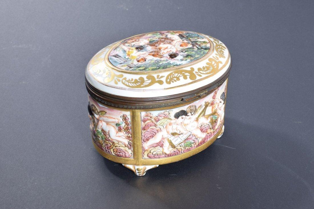 Capodiimonte Oval Dresser Box - 3
