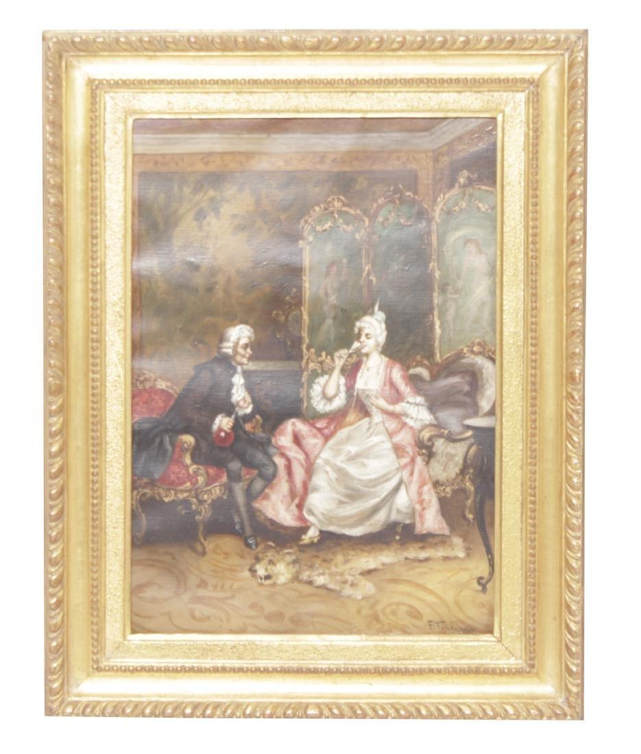 F. Turenne , An Elegant Interior