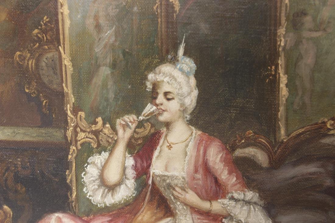 F. Turenne , An Elegant Interior - 2
