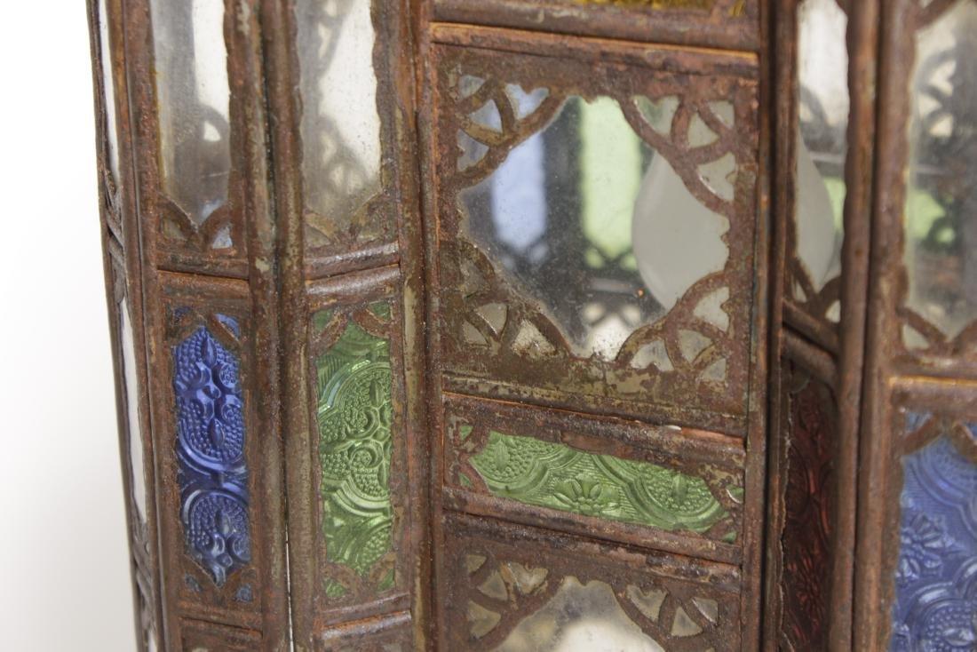 Pair of Moroccan Hanging lanterns - 2