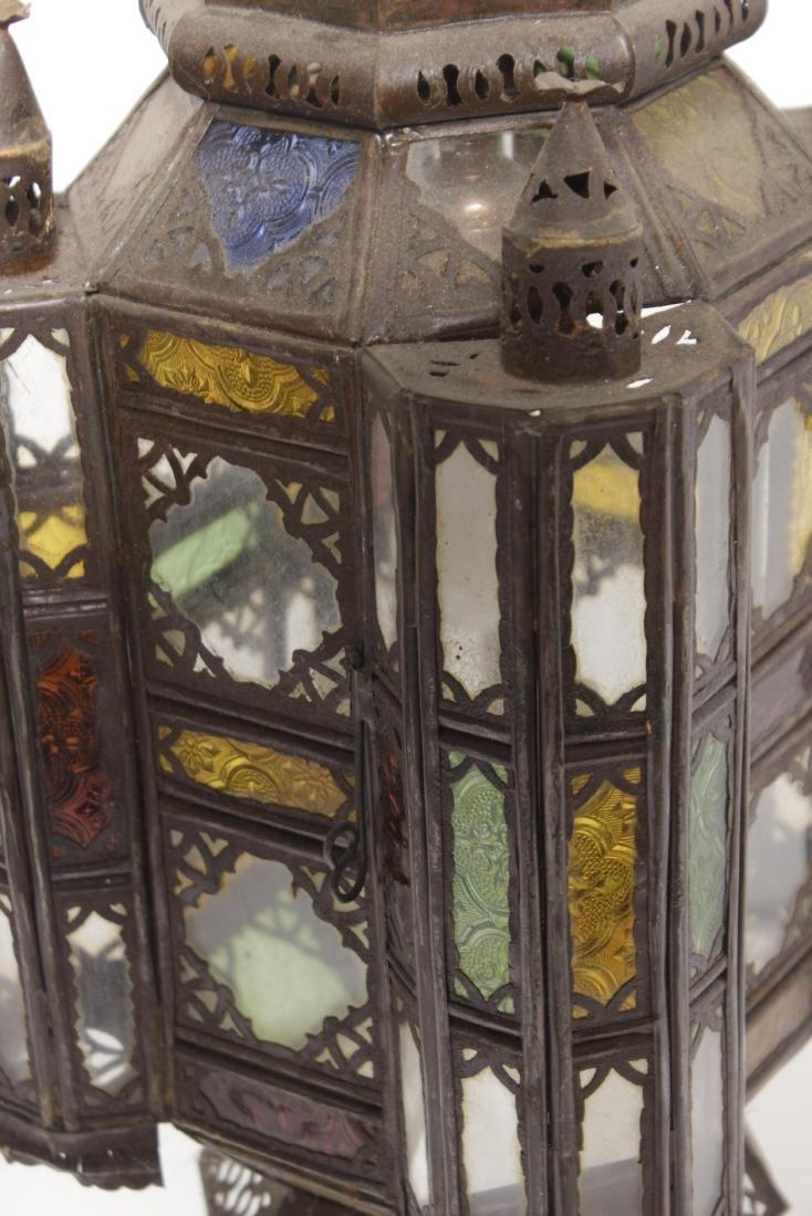 Pair of Moroccan Hanging lanterns - 3