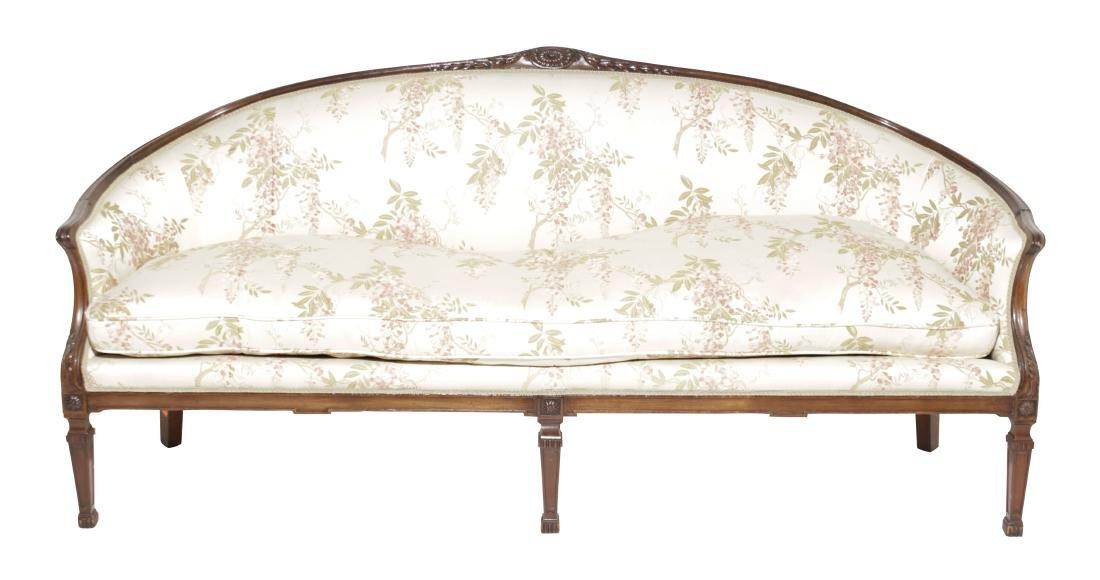Hepplewhite Style Sofa