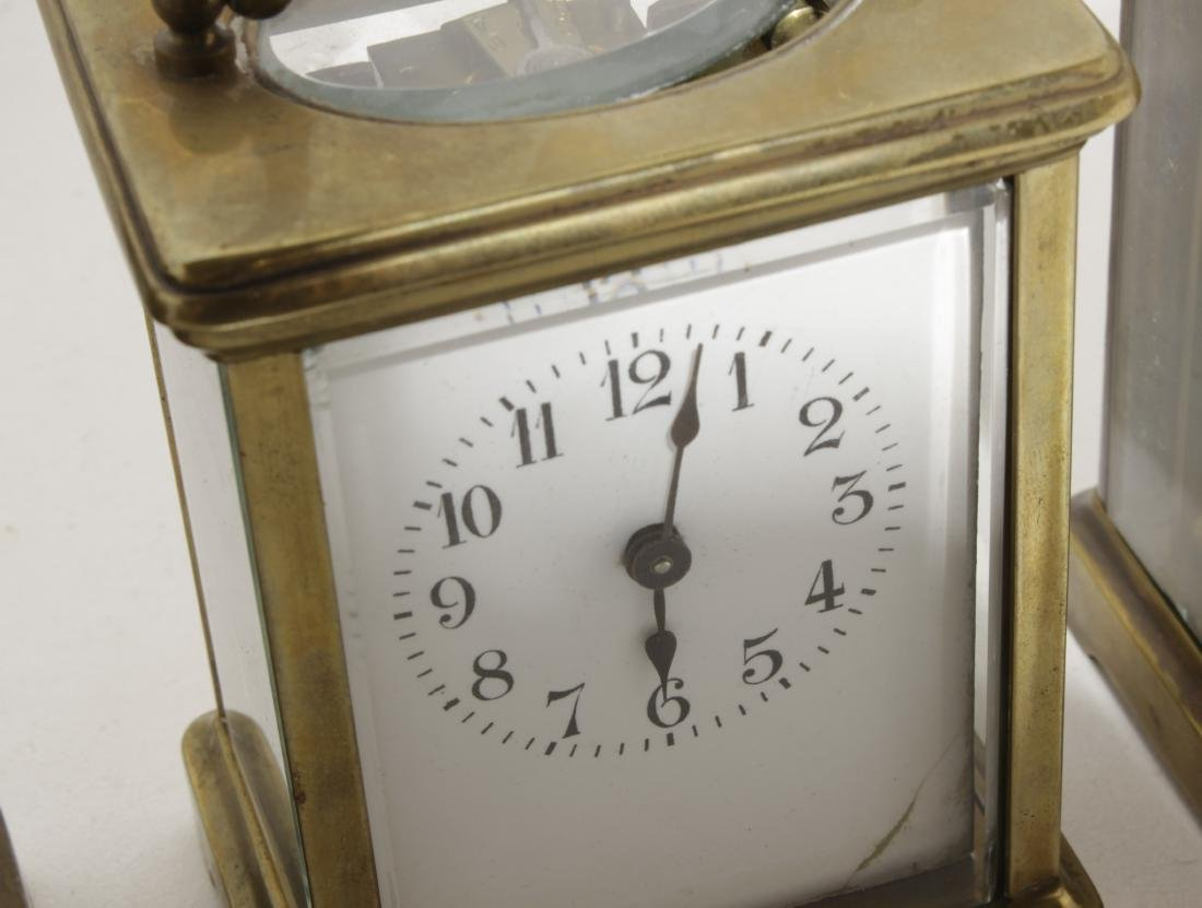Three Brass Carriage Clocks - 2