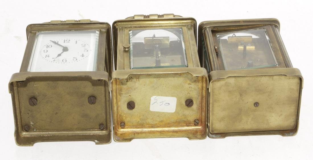 Three Brass Carriage Clocks - 4