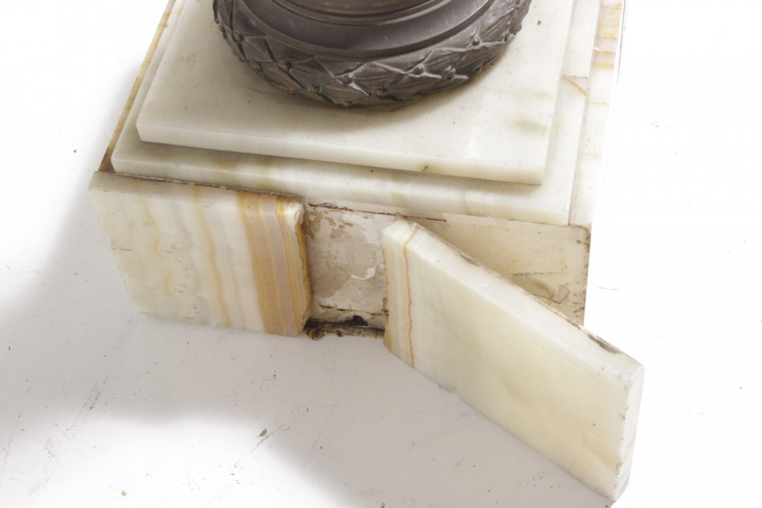 Bronze and Marble Pedestal - 6
