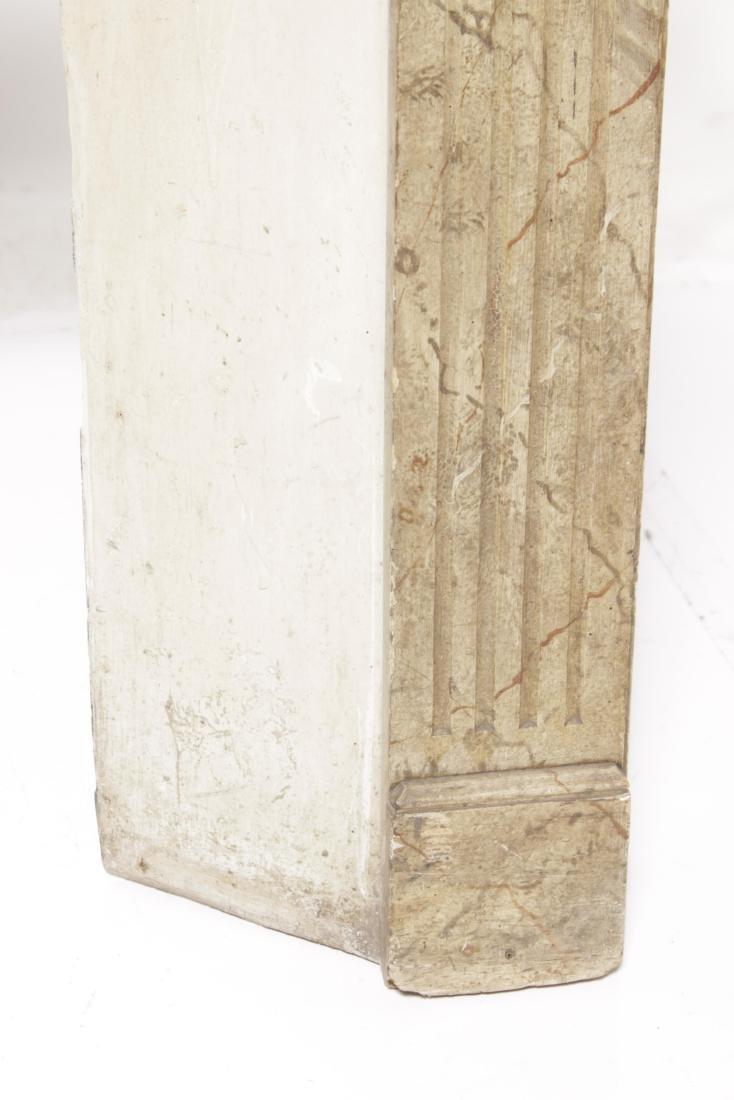 Antique Louis XVI Style Mantel - 4