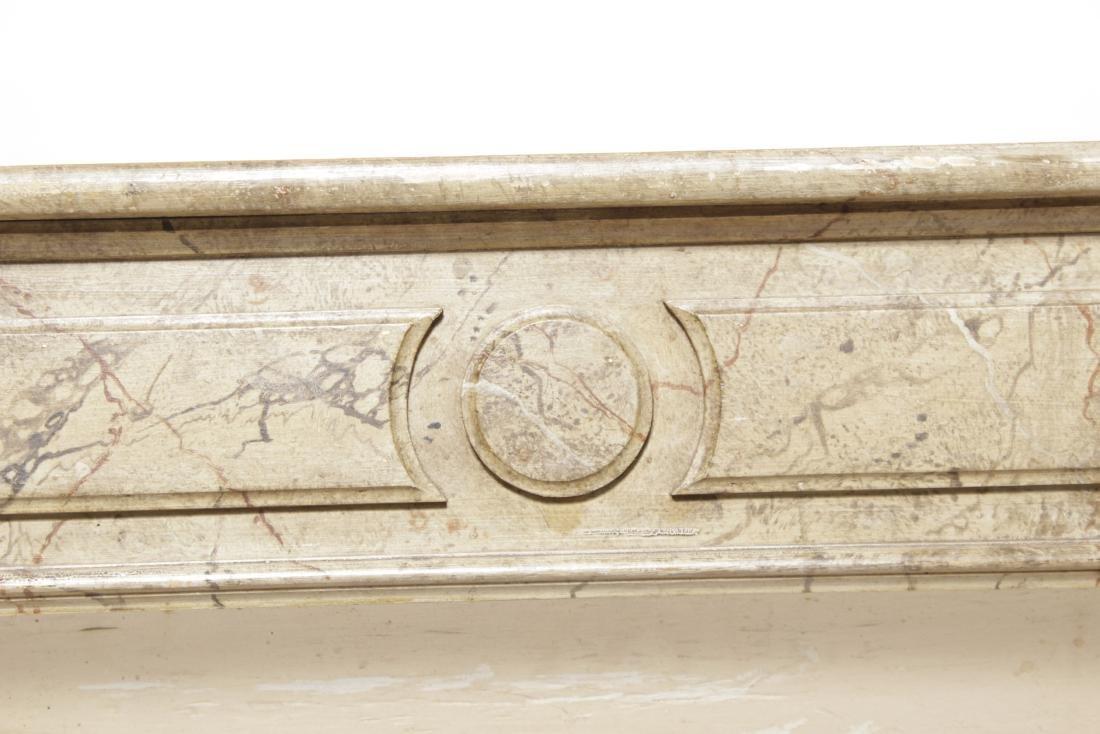 Antique Louis XVI Style Mantel - 5