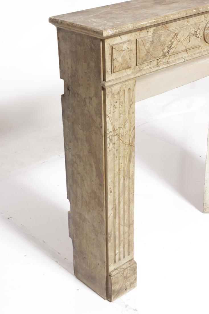 Antique Louis XVI Style Mantel - 6