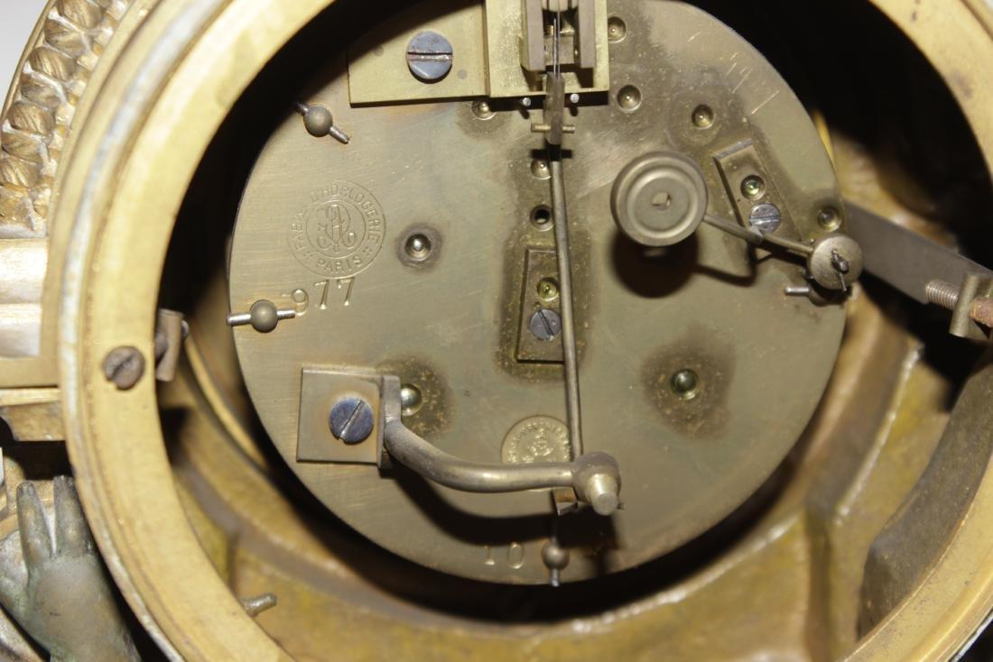 Louis XVI Style Bronze Clock - 10
