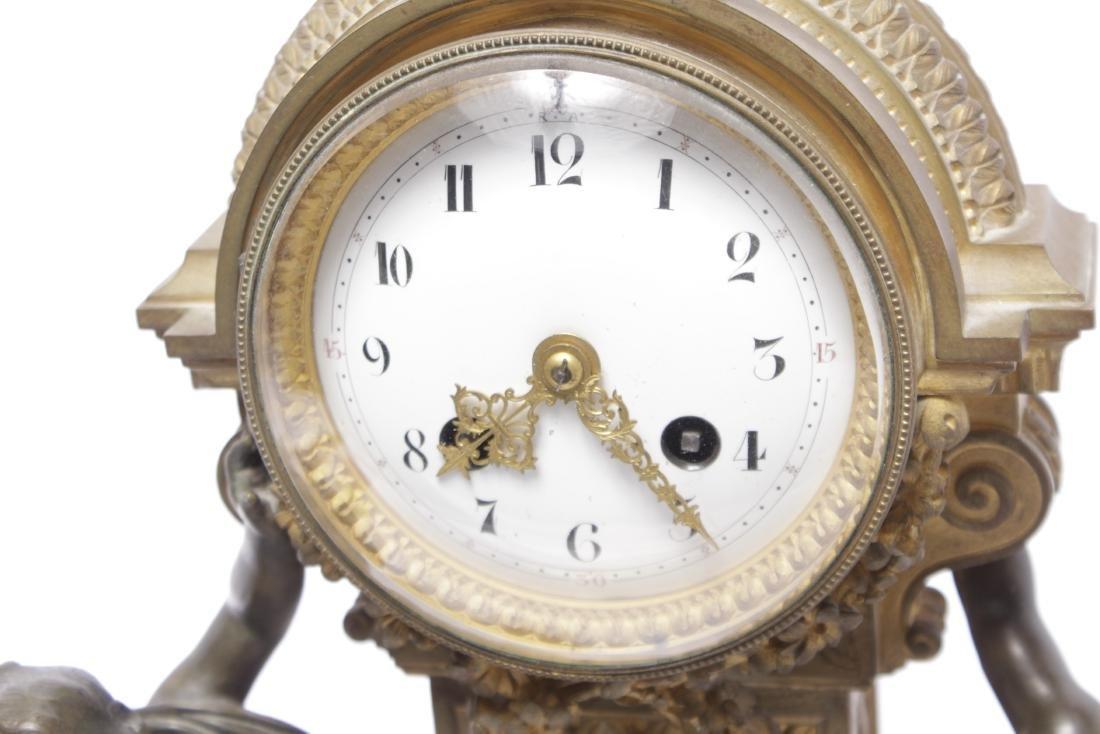 Louis XVI Style Bronze Clock - 2