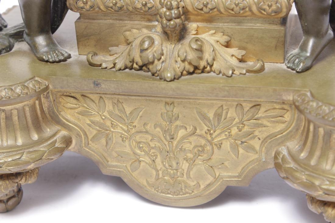 Louis XVI Style Bronze Clock - 5