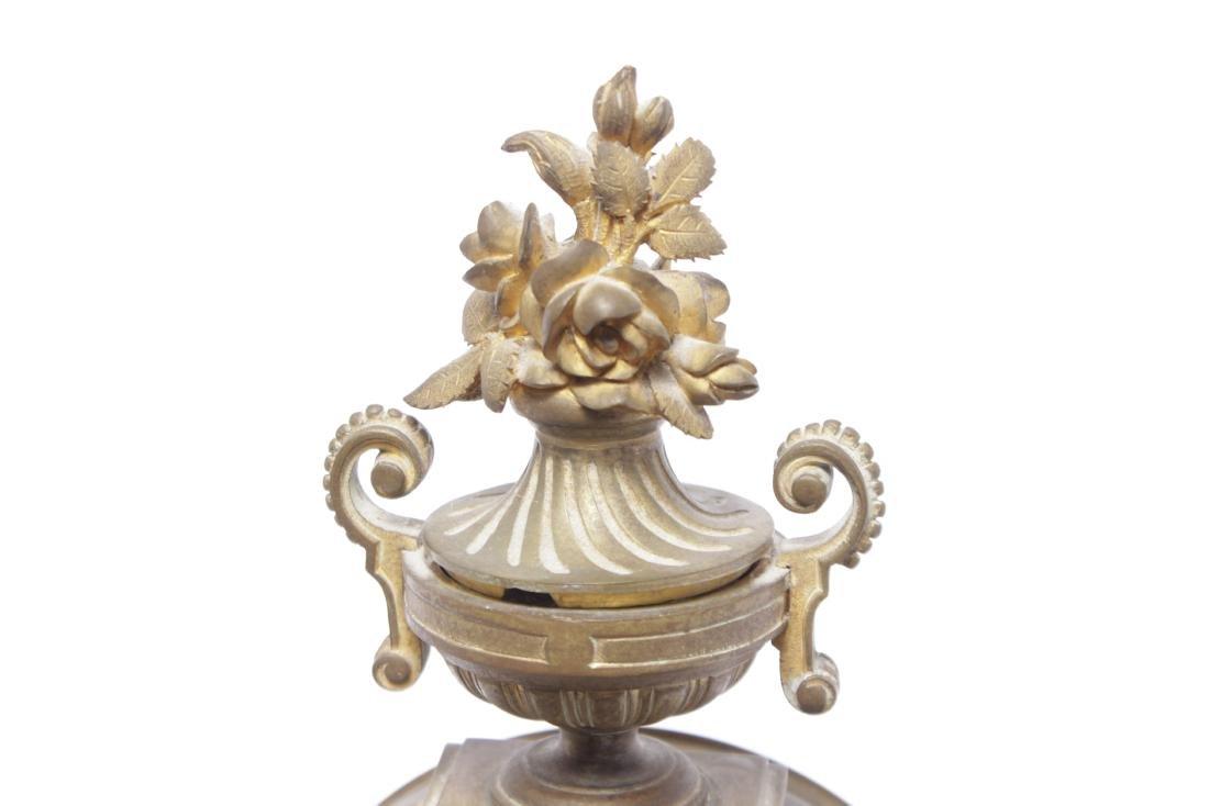 Louis XVI Style Bronze Clock - 6