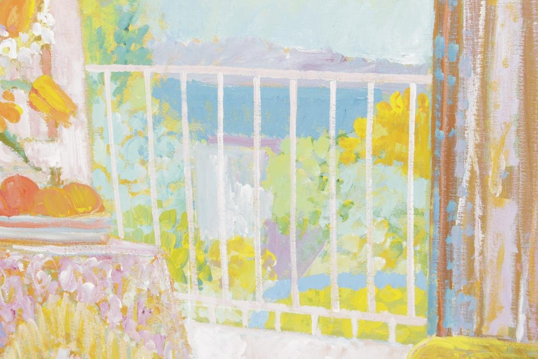 Painting of Sun Porch - 8