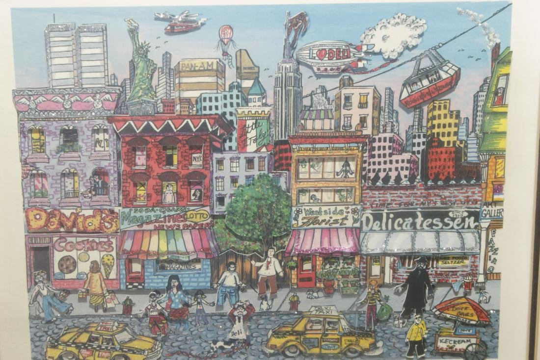 'Going Uptown' Print - 2