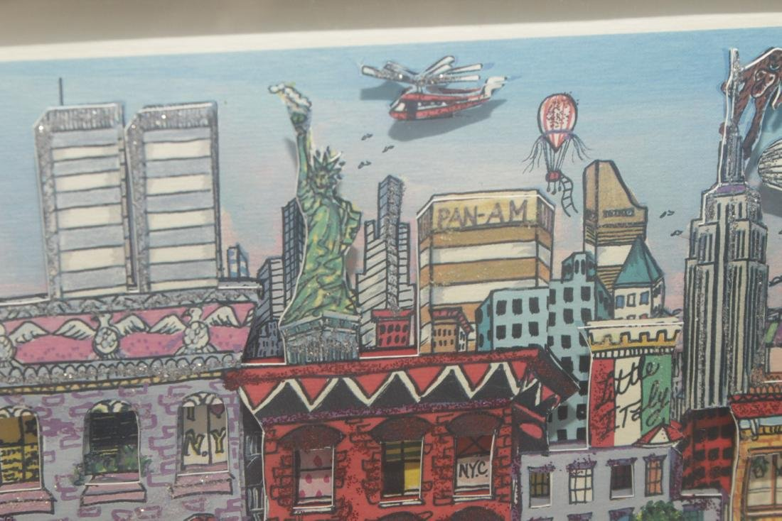 'Going Uptown' Print - 3