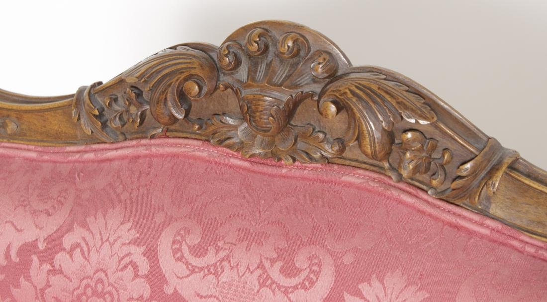 Pair of Louis XV Style Fauteuils - 2