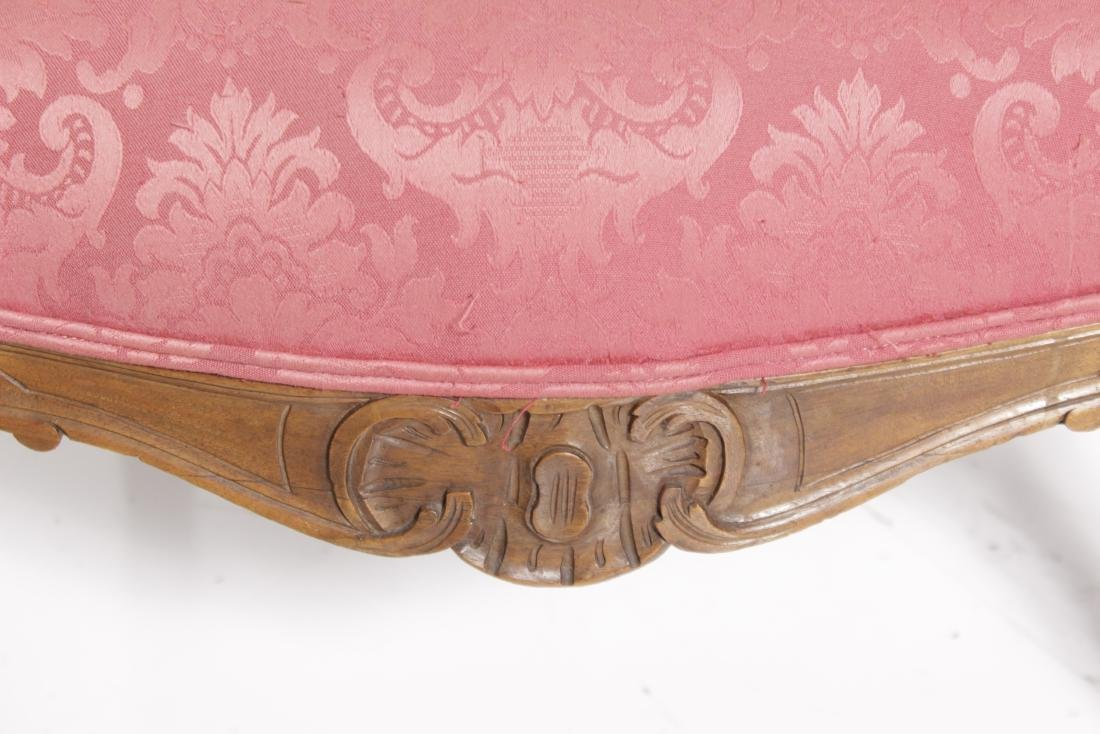 Pair of Louis XV Style Fauteuils - 4