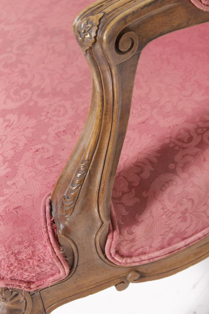 Pair of Louis XV Style Fauteuils - 6