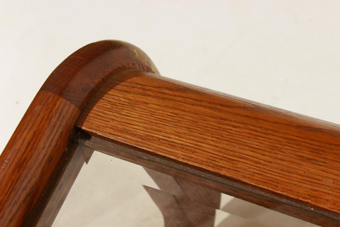 70's Oak Coffee Table, attr Lou Hodges - 4