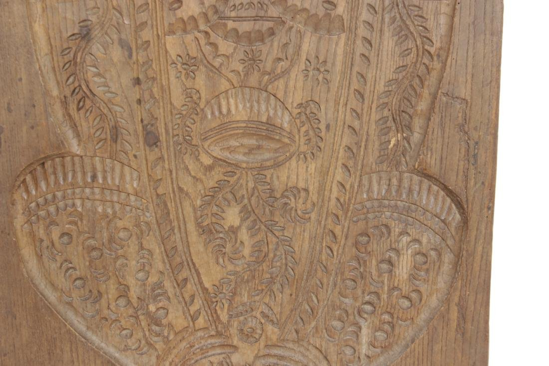 Carved Wooden Folk Plaque - 10
