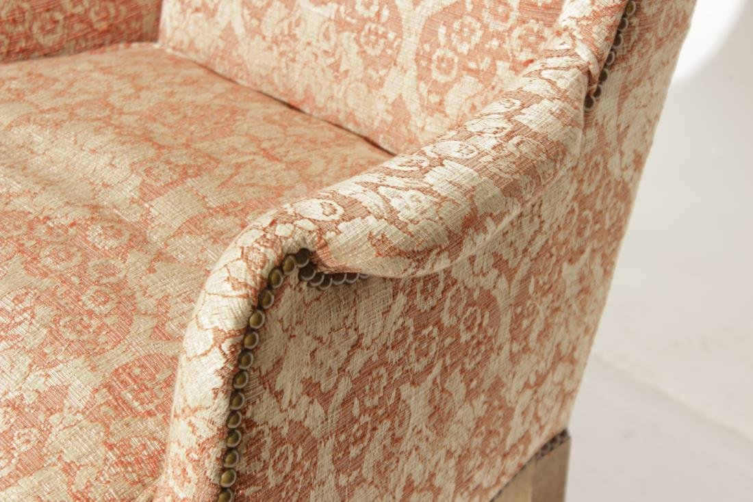 Diminutive Queen Anne Style Wing Chair - 4