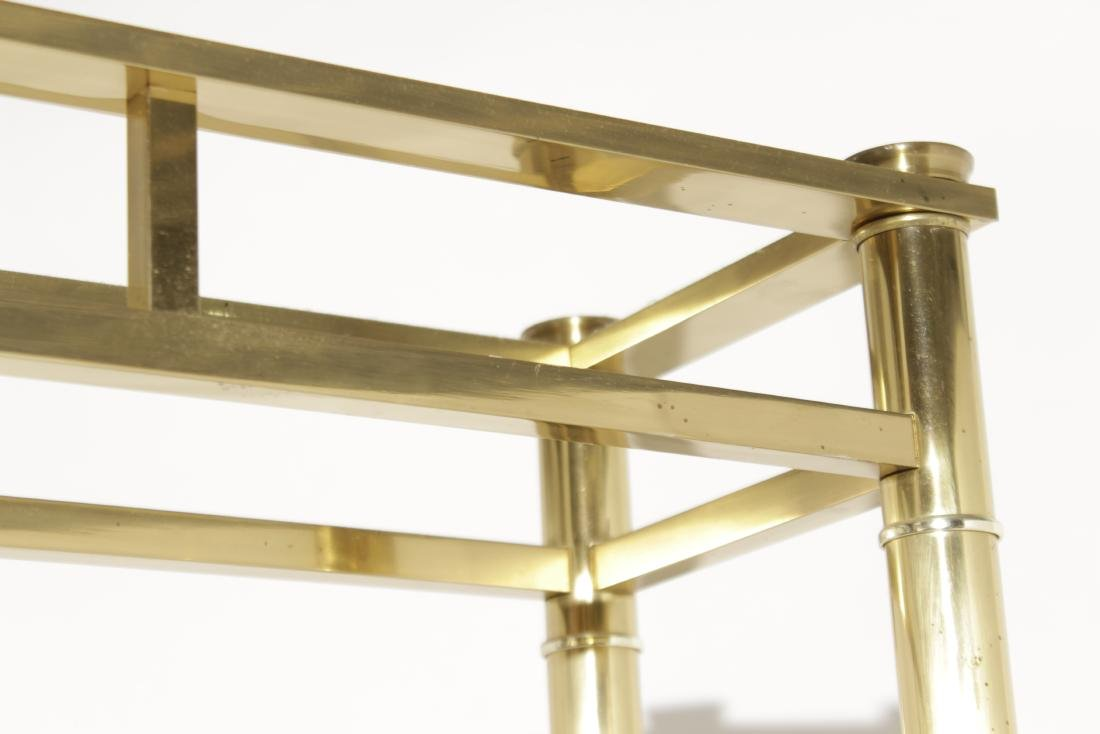 Midcentury Brass Etagere - 5
