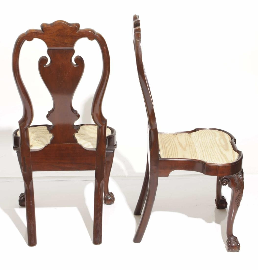 Pair Kindel Queen Anne Style Side chairs - 2