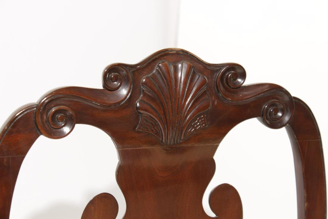Pair Kindel Queen Anne Style Side chairs - 3