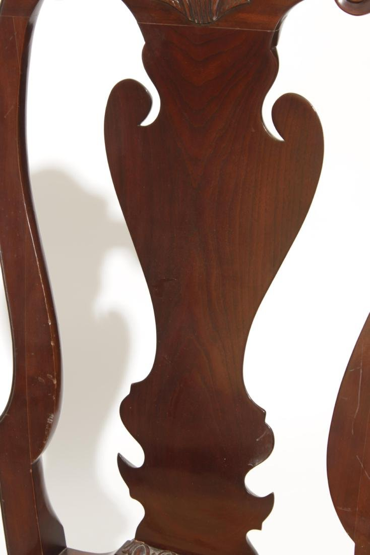 Pair Kindel Queen Anne Style Side chairs - 4