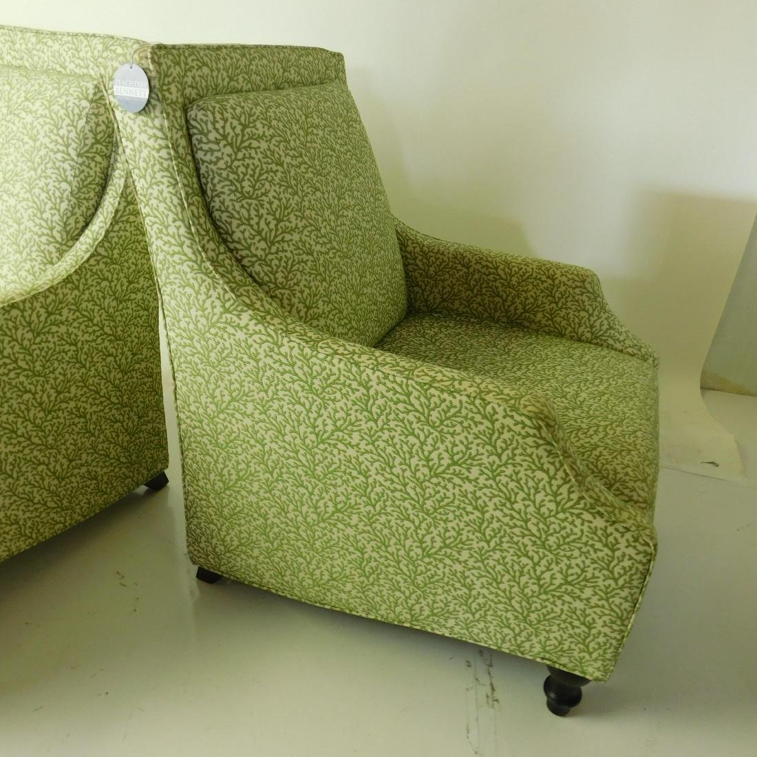 Pair Club Chairs from Breakers Hotel - 3