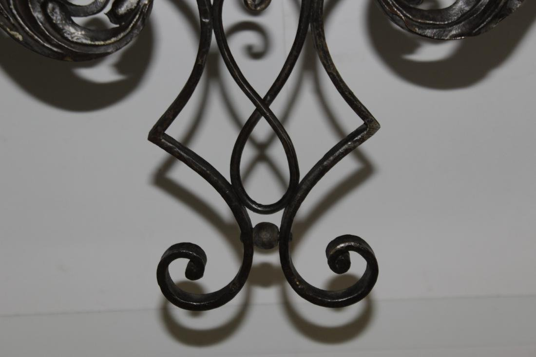 Louis XV Style Wrought Iron Console - 5