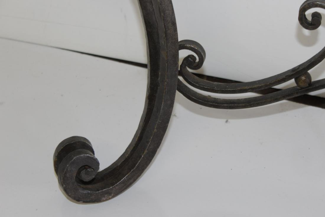 Louis XV Style Wrought Iron Console - 8