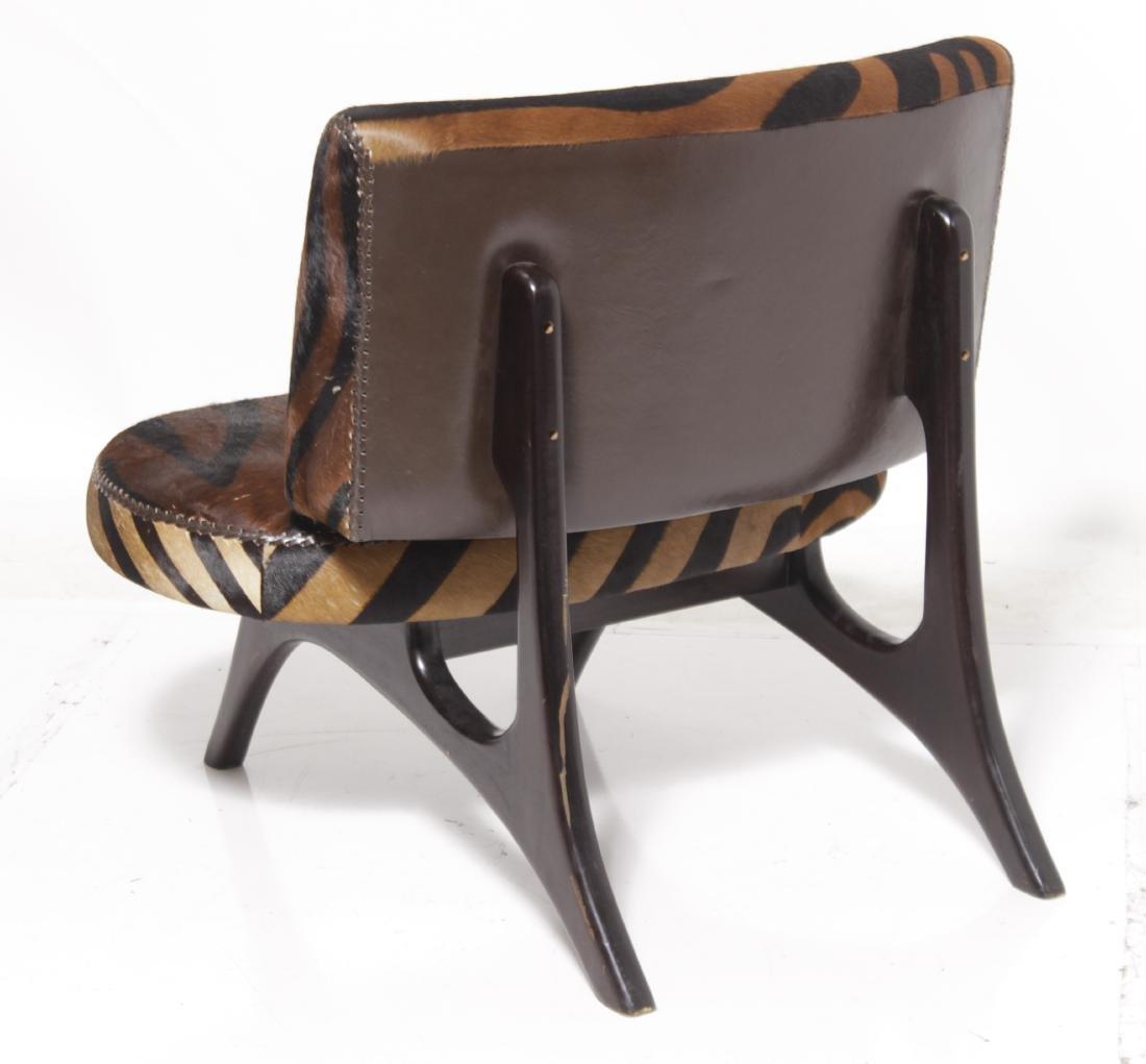 Biomorphic Animal Print Sofa - 4