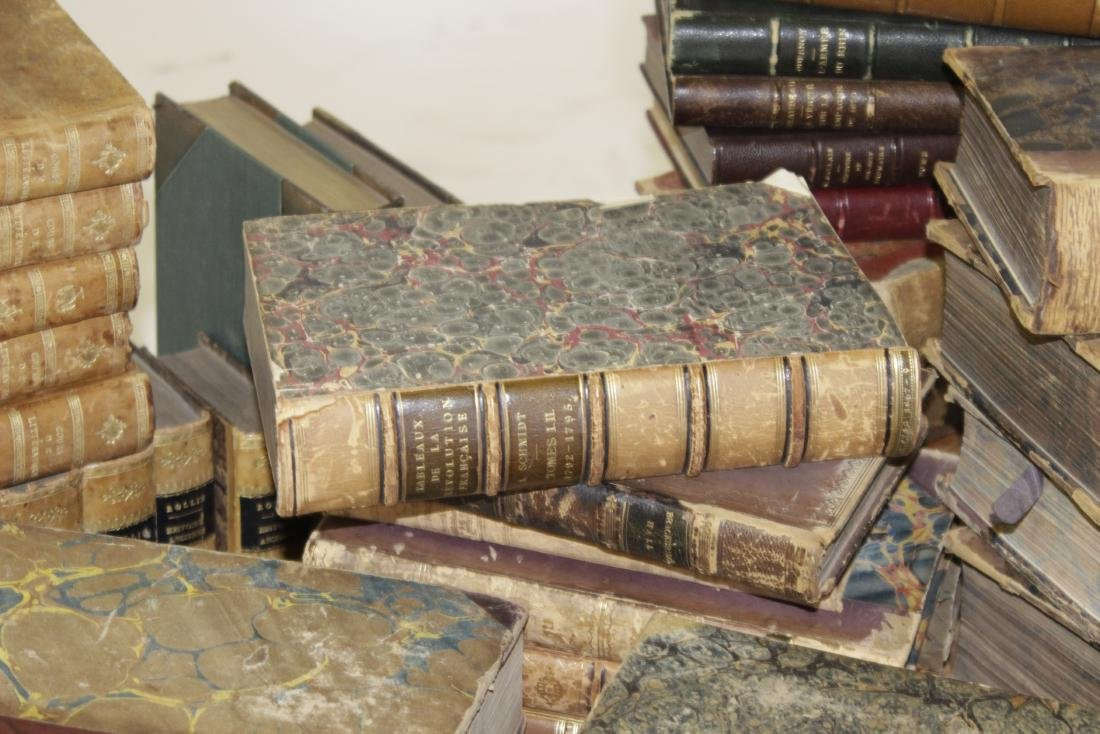 Assorted Antique Leather Bound Books - 4