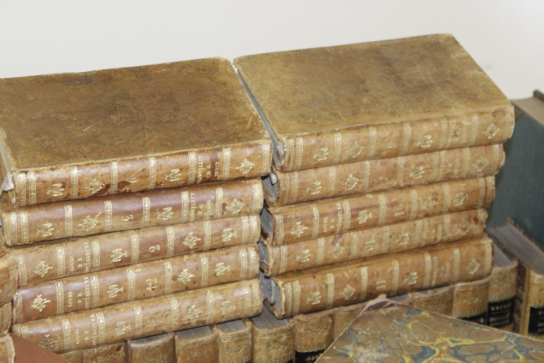 Assorted Antique Leather Bound Books - 5